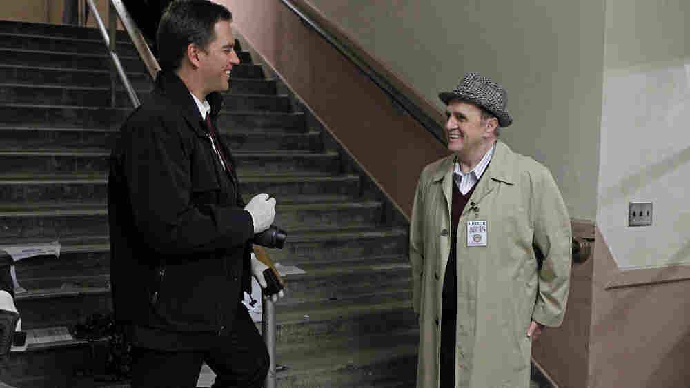 Hey, that's Bob Newhart, guest-starring on tonight's NCIS.