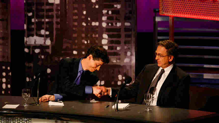 "Jonathan Cohn (left) and Paul Starr argued against the motion ""Repeal Obamacare"" during an 'Intelligence Squared U.S.' debate on Jan. 11 at New York University's Skirball Center for the Performing Arts."