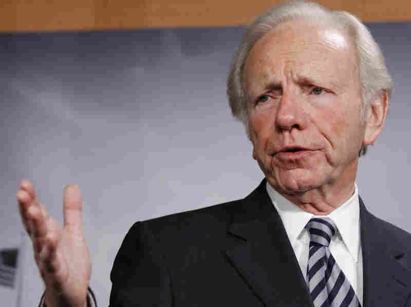Sen. Joseph Lieberman in December 2010.