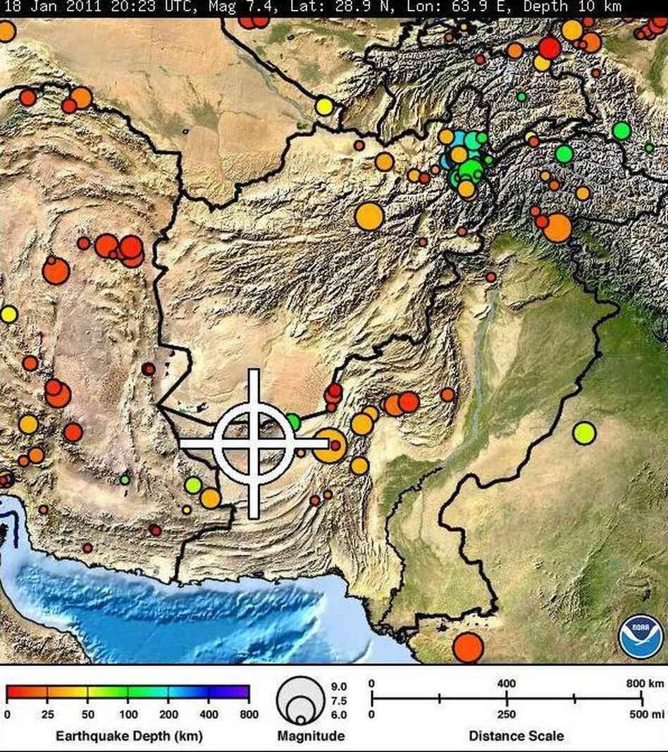 7.2 Magnitude Earthquake Shakes Southwestern Pakistan ...