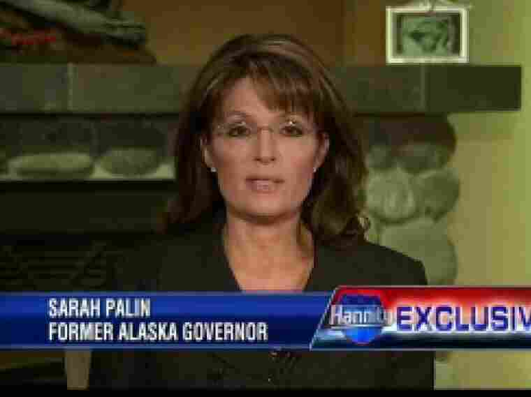 Former Alaska Gov. Sarah Palin on Fox News Channel's 'Hannity', Jan. 17, 2011.