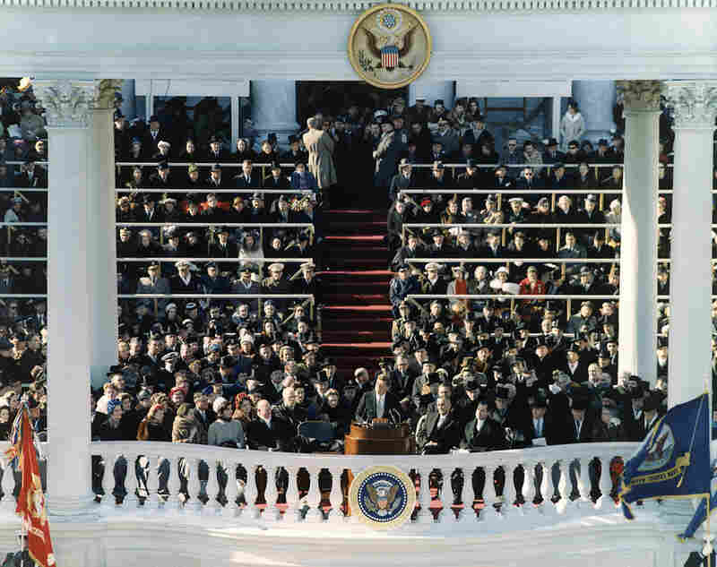 The inaugural address of John F. Kennedy, 35th President of the United States, on Jan. 20, 1961, in Washington, D.C.