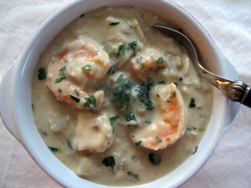 Spicy Seafood Chowder With Sweet Fennel