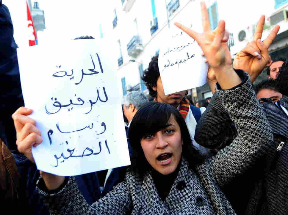Tunisia erupted in demonstrations after Mohammed Bouazizi, 26, a fruit and vegetable street vendor set himself on fire.