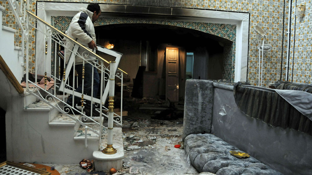 Ben Ali family property ransacked