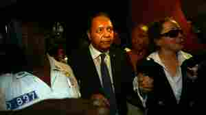 "Former Haitian president Jean-Claude ""Baby Doc"" Duvalier."