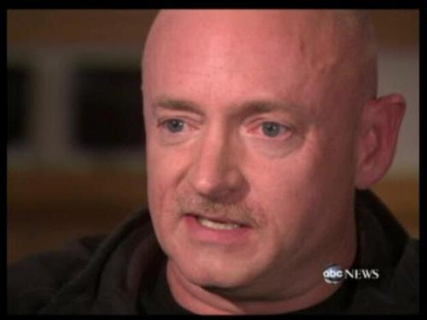 Mark Kelly, husband of Rep. Gabrielle Giffords (D-AZ) on ABC-TV's '20/20'.