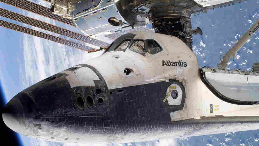 The space shuttle Atlantis docked to the International Space Station in May 2010. NASA has announced that Atlantis will fly one last mission in June 2011 before retirement.