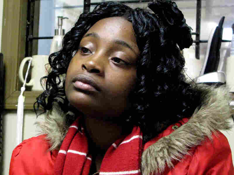 Corshana Hatter, 17, was shot six times while walking to a friend's house. She is now a part of the anti-violence group CeaseFire.