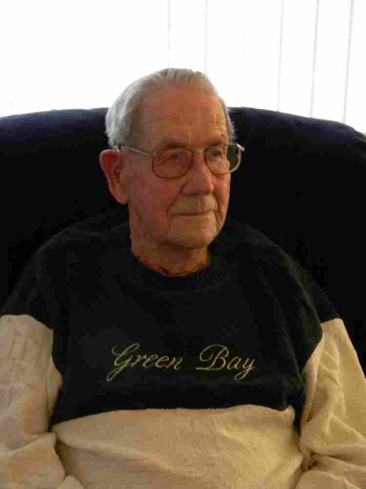 Elmer Possin, 95, of Madison, Wis., became a Packers fan when his family first got a radio in 1927. He's been attending Packers' games since 1933 and has been a season-ticket holder since 1950.