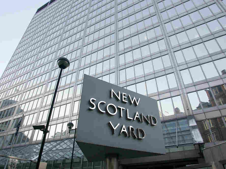 New Scotland Yard, the headquarters building of the Metropolitan Police.