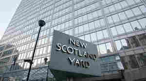 New Scotland Yard, the headquarters building of the Metropolitan Police.