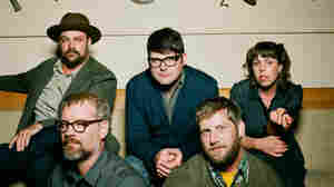The Decemberists' members perform songs from The King Is Dead on World Cafe.