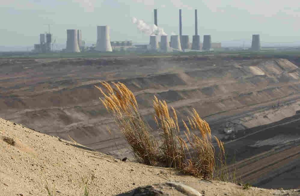 A coal-fired power plant near Weisswasser, Germany.