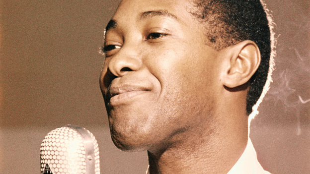 Sam Cooke in an RCA Recording Studio in Los Angeles, circa 1959. (Getty Images)