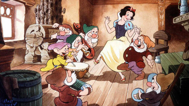 Fairy tales have been a part of Disney's movie repertoire since the 1937 release of its first feature-length film, Snow White. But now that the company has decided to stop making animated princess movies, does this spell The End for the genre? (AFP/Getty Images)
