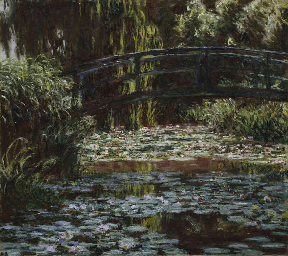Water Lily Pond by Claude Monet, 1900.