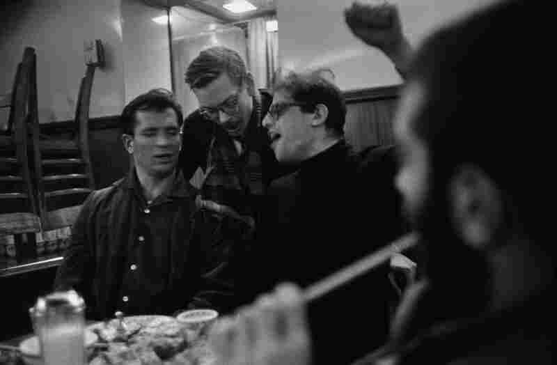 Jack Kerouac, Lucien Carr, Allen Ginsberg, 1959