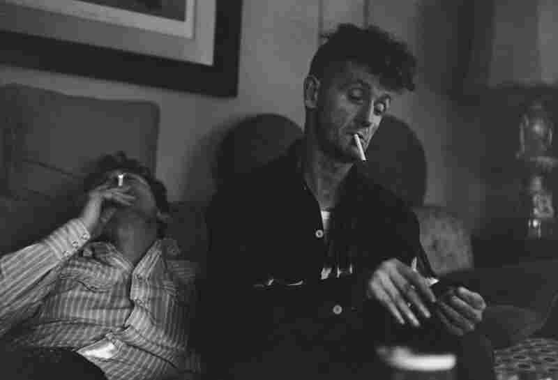 Jack Elliot and Woody Guthrie, New Jersey, 1961