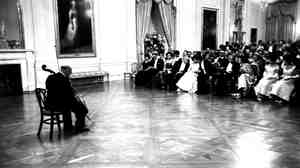Pablo Casals performs at the White House, November 1961
