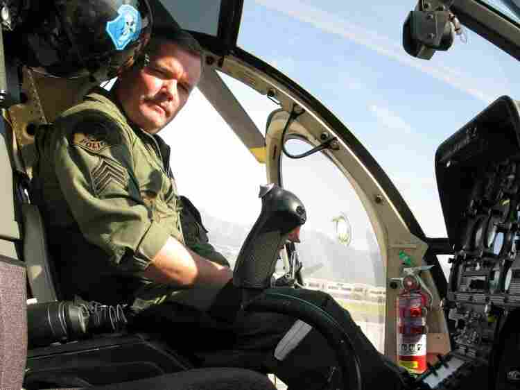 Glendale, Calif., Police Sgt. Steve Robertson was first incapacitated by a laser beam while landing a helicopter in the mid-1990s. Since then, he says, he and his fellow police pilots in Glendale have been targeted dozens of times by people shining cheap, easy-to-buy lasers.
