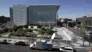 The Sandra Day O'Connor United States Courthouse in Phoenix, where Jared Loughner faced arraignment on