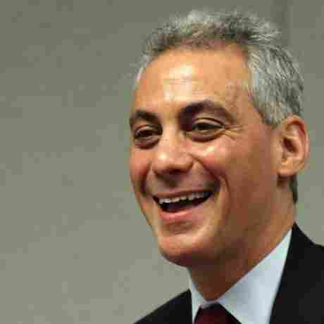 Former White House Chief Of Staff Rahm Emanuel, now a candidate for mayor in Chicago.