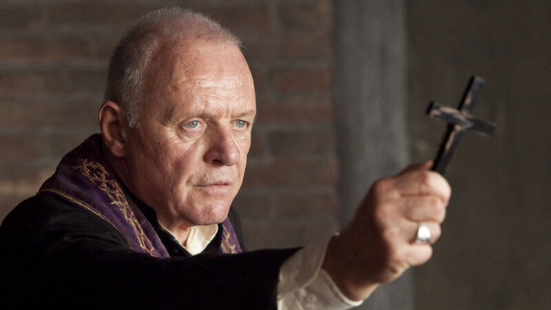 Movie Reviews The Rite Anthony Hopkins Play An Exorcist Which Was Inevitable Right Npr