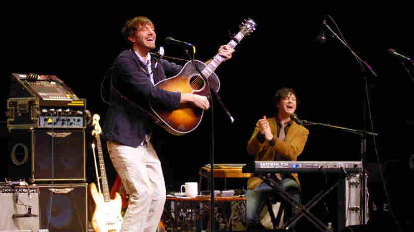 Stephen Kellogg and the Sixers performed on Mountain Stage.