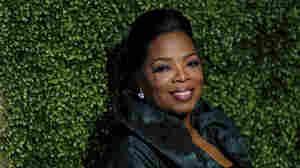 Oprah Winfrey arrives at a party in Pasadena, Calif. on Jan 6.