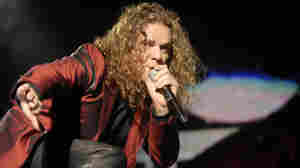 Lead singer Fher of the Mexican group Mana.