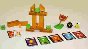 This spring, Mattel plans to release Angry Birds Knock On Wood, a board game based on the wildly popular Angry Birds digital game.