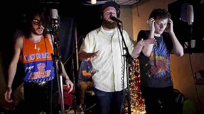 The Seattle hip-hop group Mad Rad performed live on KEXP.