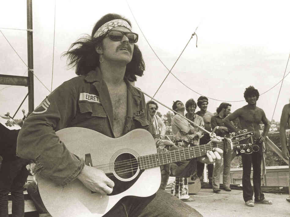 Country Joe at Woodstock.