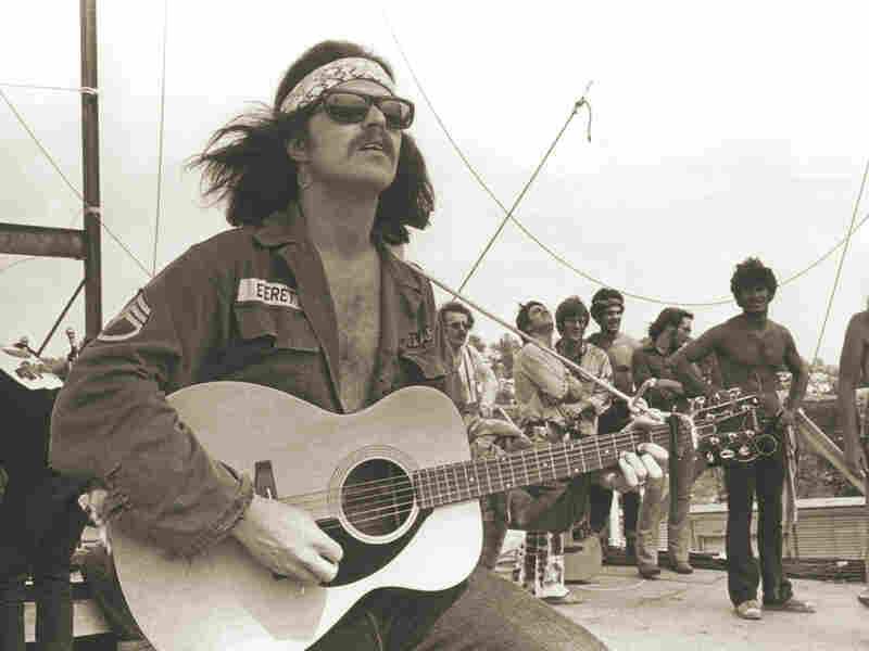 Country Joe at Woodstock.