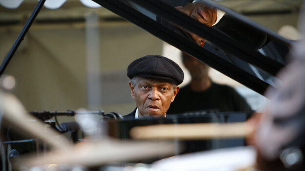 McCoy Tyner plays the Nice Jazz Festival in France in 2009.