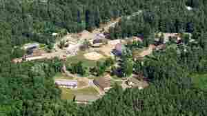 Camp Gabriels prison in  Brighton, N.Y., is on 92 acres in the  central Adirondacks. It has 48 buildings that lost their  inmates in 2009 as New York's prison  population continued to decline over the past decade.
