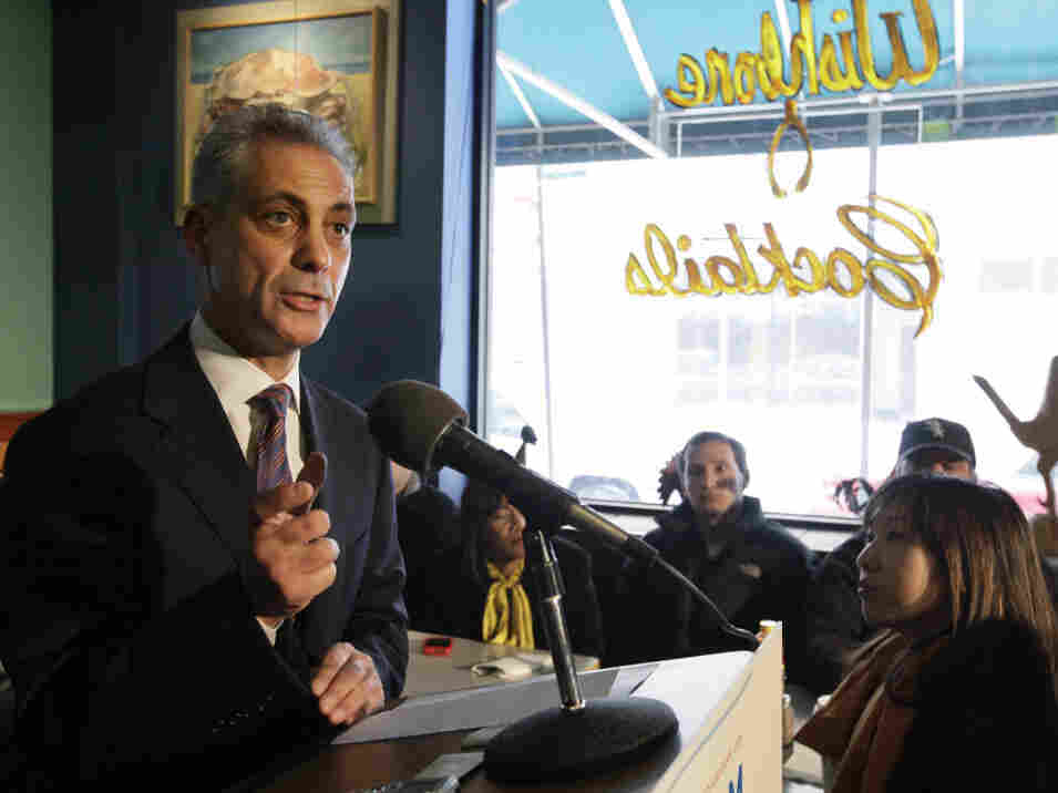 The Illinois Supreme Court ruled unanimously Thursday that former White House Chief of Staff Rahm Emanuel can run as a candidate for mayor in next month's Chicago elections.