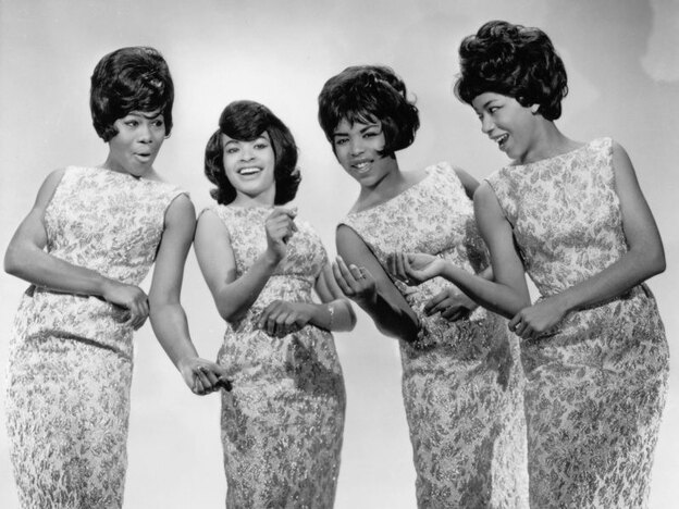 The Marvelettes: (from left) Gladys Horton, Wanda Rogers, Georgeanna Tilman and Katherine Anderson