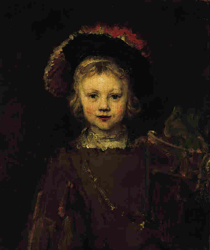 Portrait of a  Boy,  1655-60, by Rembrandt