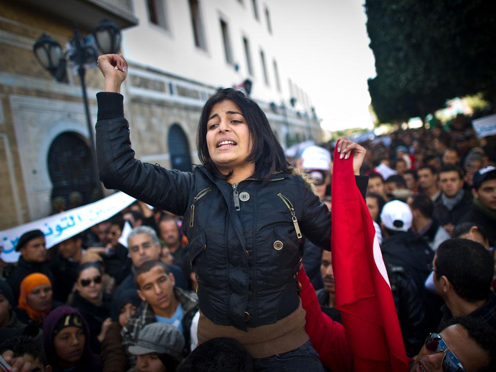 Intalnirea femeilor din Tunisia