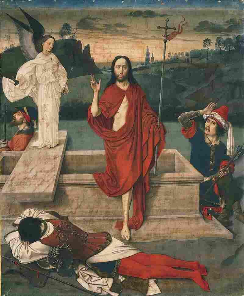 Resurrection, c. 1455, Dieric Bouts