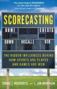 Scorecasting by Tobias Moskowitz and L. Jon Wertheim.
