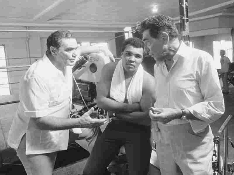 Ernest Borgnine, Muhammad Ali, John Marley