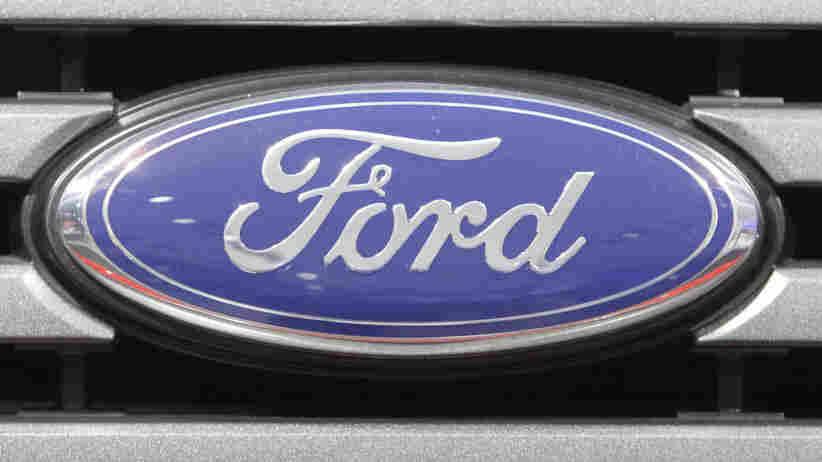 Ford's logo.