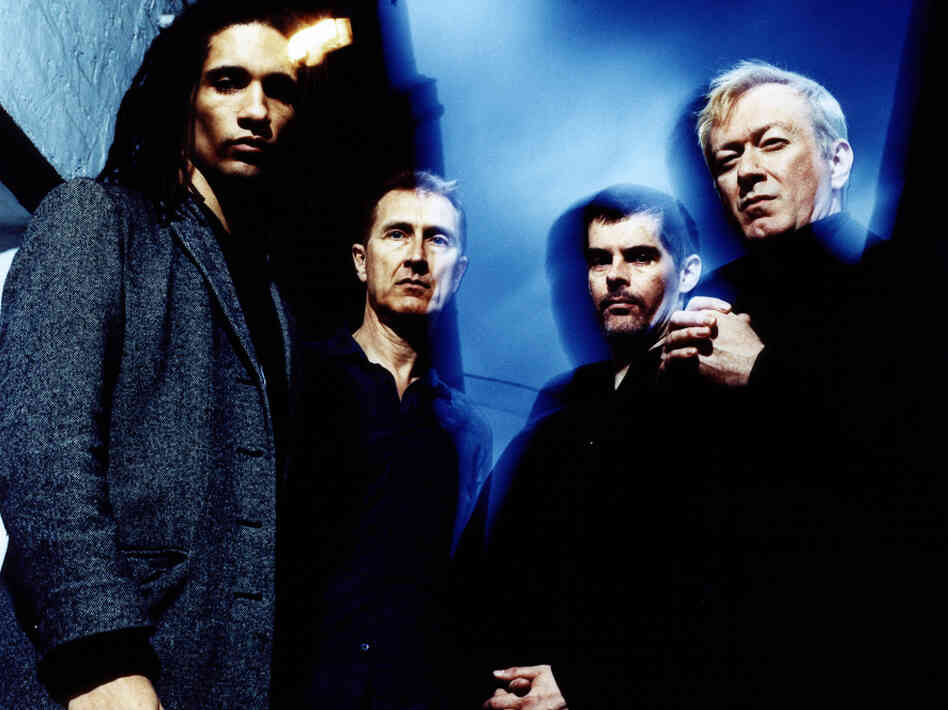 "Gang of Four singer Jon King (second from left) says it's a privilege to have ""inspired other musicians to make great music."""