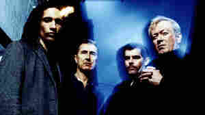 """Gang of Four singer Jon King (second from left) says it's a privilege to have """"inspired other musicians to make great music."""""""