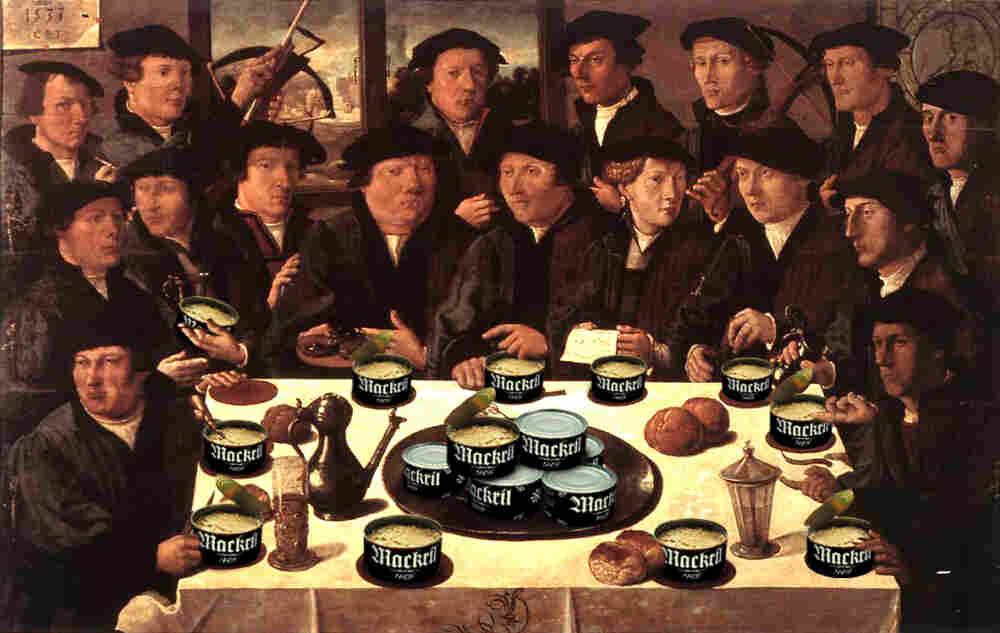 Mackerel banquet circa 1533.