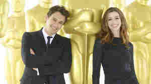 James Franco (left) and Anne Hathaway (right)  will serve as co-hosts of the 83rd Academy Awards on Sunday, February 27.