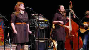 The Sweetback Sisters performed on Mountain Stage.